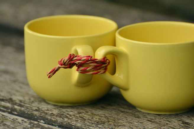 beverage ceramic cord cups