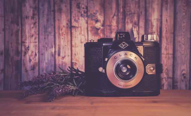 analogue antique aperture art